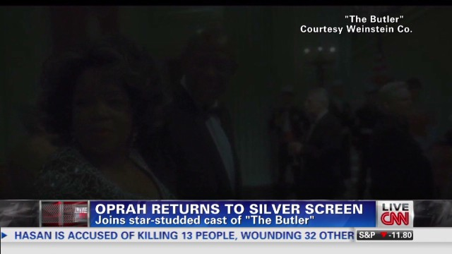 Oprah returns to the silver screen
