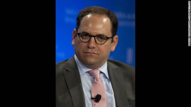 Andrew Morse listens during the Milken Institute Global Conference in Beverly Hills on May 1.