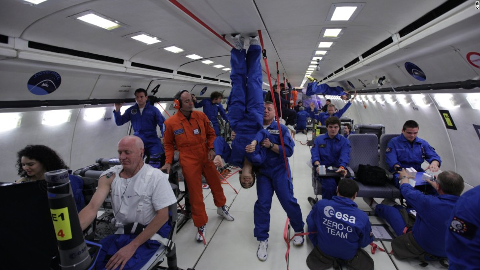 astronauts in an orbiting space shuttle experience a sensation of weightlessness because - photo #18