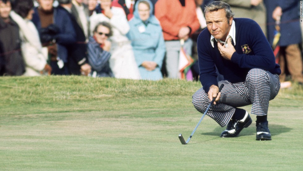 Even the greats are prone to the odd choke. Not only did seven-time major winner Arnold Palmer blow a seven-shot lead at the 1966 U.S. Open but he also lost the subsequent 18-hole playoff for the title to Billy Casper after having led by two shots.