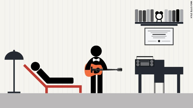 Music therapy has many uses, from treating individuals in private practice to elderly care settings.