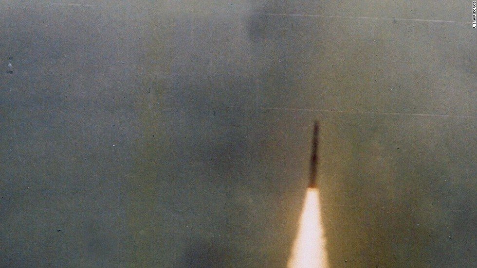 "A timer, Sims said, sparked the rocket's fiery engines. ""It came blasting through the clouds and you got a good view of it,"" he recalled. It rocketed to 30,000 feet, Sims said -- more than 10,000 feet above the C-5. ""It looked like a missile launch from Cape Canaveral,"" said Sims. It burned for about 25 seconds, and then ""cascaded into the Pacific Ocean."""