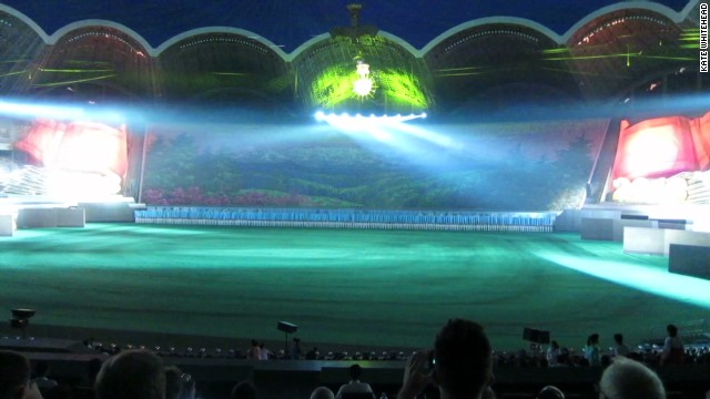 North Korean Mass Games hit by blackout
