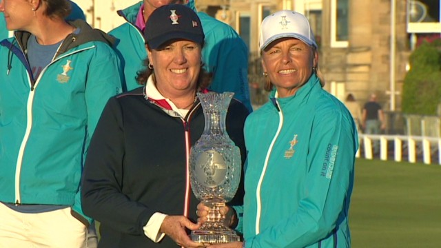 Women golfers face off at Solheim Cup
