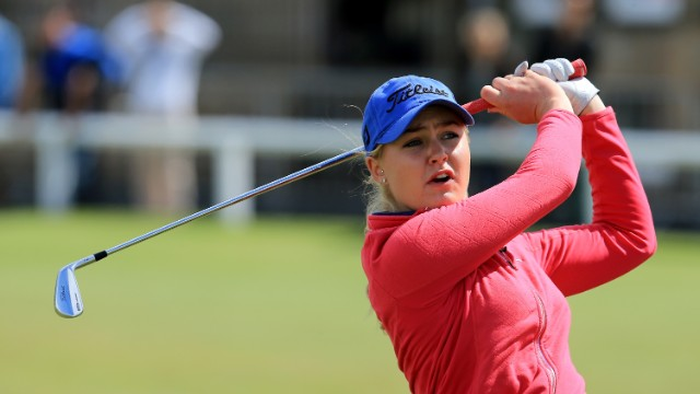 Teenage golf star defies the odds