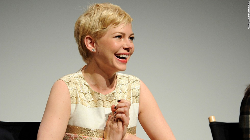 "In her ""Dawson's Creek"" days, Michelle Williams kept her hair pretty long, but when she was dating Heath Ledger she began to prefer the pixie. ""I feel like myself with short hair,"" <a href=""http://marquee.blogs.cnn.com/2011/11/02/michelle-williams-why-i-keep-my-hair-short/?iref=allsearch"" target=""_blank"">she said in 2011</a>. ""I cut it for the one straight man who has ever liked short hair and I wear it in memorial of somebody who really loved it."""