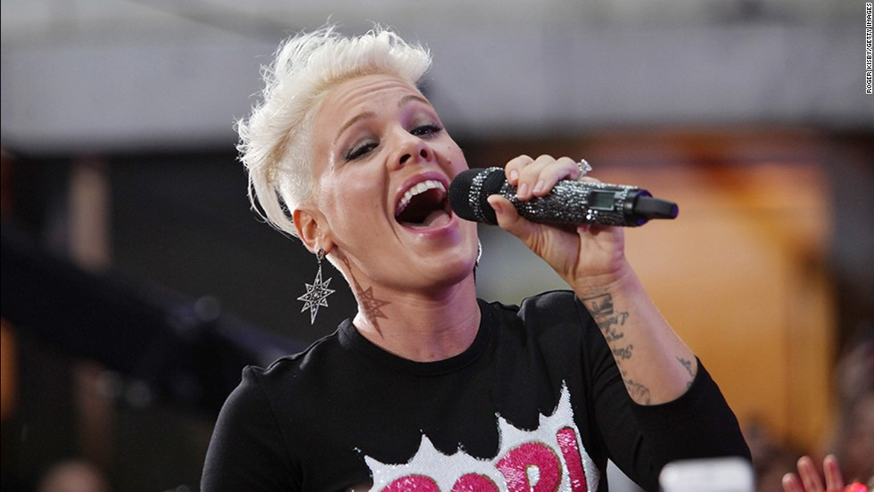 "Pink comes off as pretty fearless in general, and that also applies to her hair. The singer <a href=""http://www.eonline.com/news/428200/pink-shaves-off-hair-check-out-the-punk-inspired-cut-here"" target=""_blank"">has never been afraid to change her cut</a> -- <a href=""https://twitter.com/Pink/status/46651424393805824"" target=""_blank"">or admit when she hates it</a> -- and that brazen confidence can be inspiring. At the 2012 MTV Video Music Awards, <a href=""http://marquee.blogs.cnn.com/2012/09/07/twinsies-pink-and-miley-cyrus-sport-the-same-cut/?iref=allsearch"">Miley Cyrus clearly took her style guidance from her fellow star.</a>"