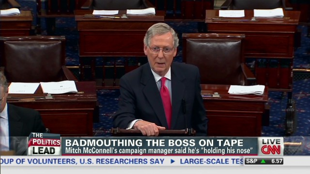 Telephone recording roils McConnell camp