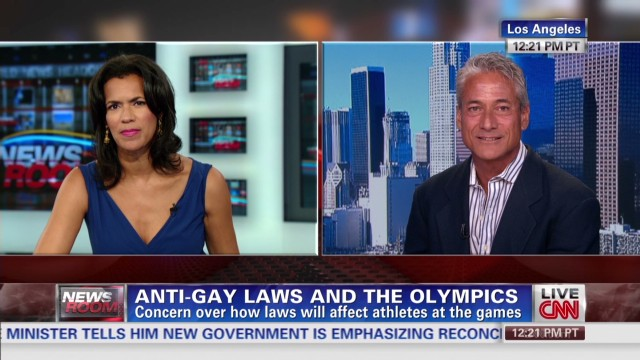 Louganis discusses Russia anti-gay laws