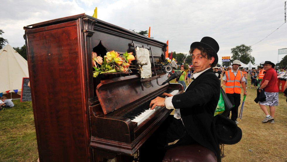 """Known as """"poshstock,"""" especially after Eton-educated British PM David Cameron attended this year, Cornbury calls itself a """"homespun melting pot where music-lovers share pies and a glass of champagne with superstars, toffs [and] rockers."""""""