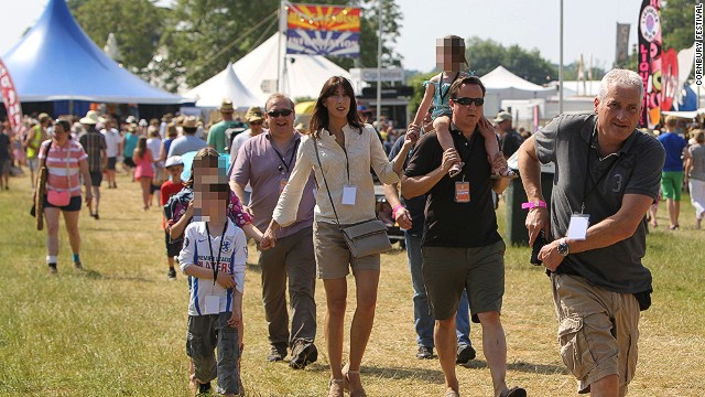 Britain's Eton-educated PM David Cameron was spotted -- behind sunglasses -- at Cornbury this year. Could this be the ultimate sign of a non-divey festival?