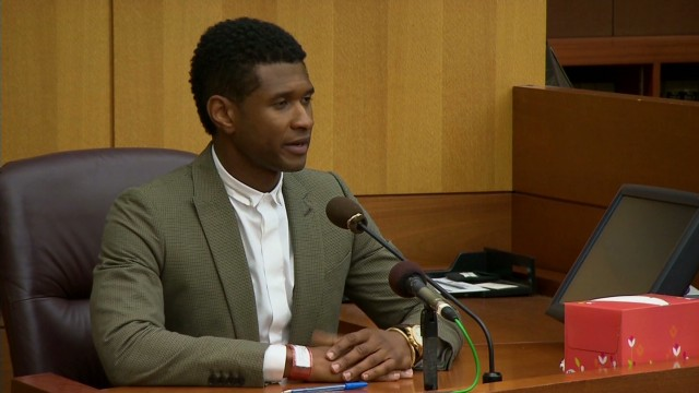 Usher testifies in custody hearing