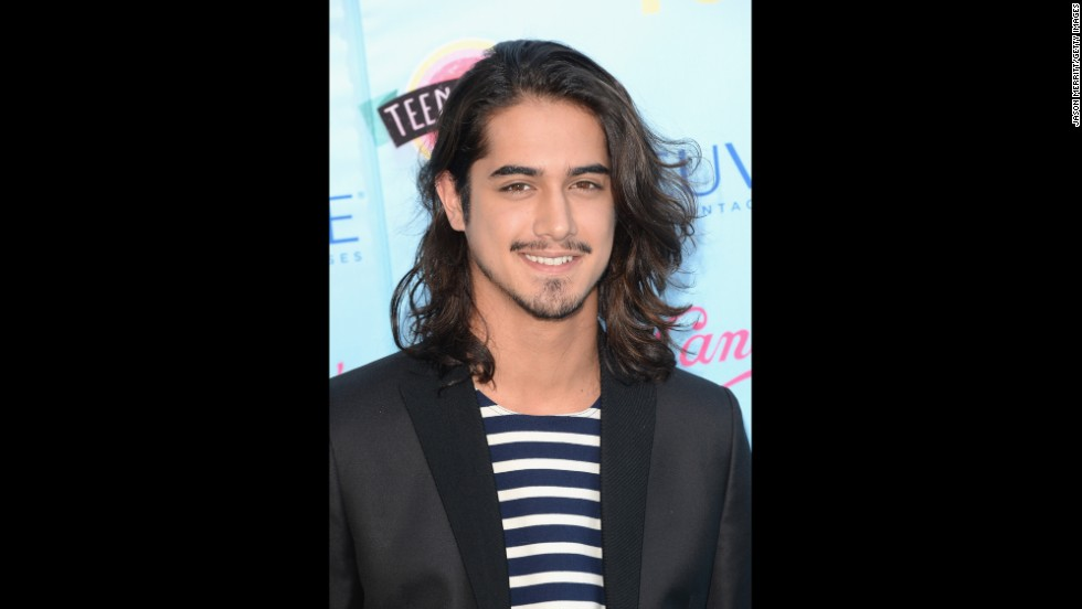 "Actor Avan Jogia of ABC Family's ""Twisted"" offers photographers a grin."