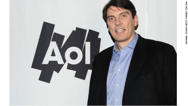 File photo of Chairman and CEO of AOL Tim Armstrong from 2011.
