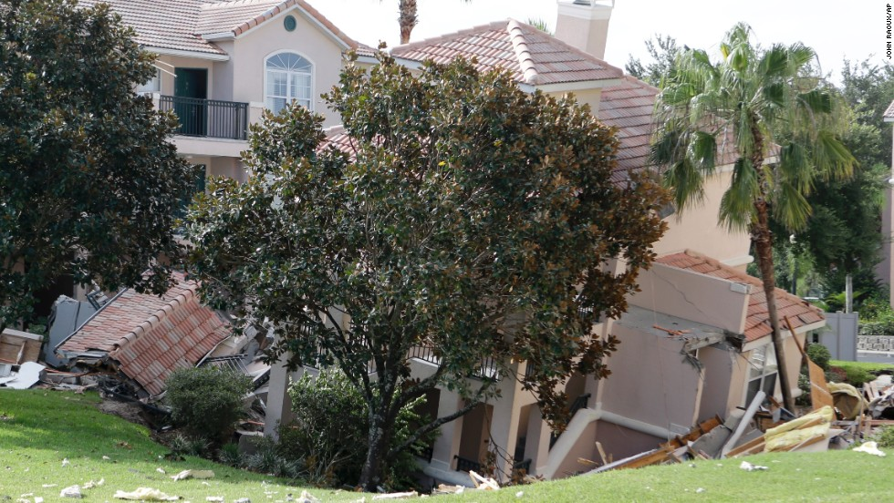 Florida is known for sinkholes. The Florida Senate Committee on Banking and Insurance reported that insurers received 24,671 claims for sinkhole damage in that state alone between 2006 and 2010.