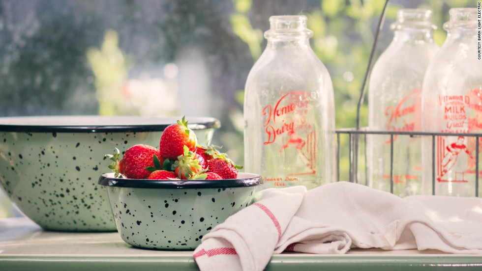 The company has expanded its enamel offerings beyond lights and into housewares.