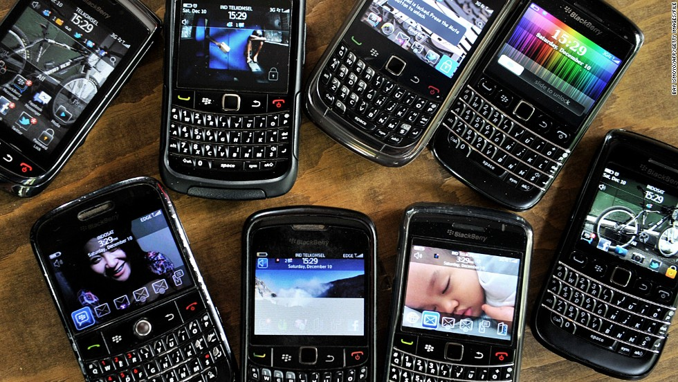 "Struggling BlackBerry is exploring ways to keep afloat -- including the <a href=""http://money.cnn.com/2013/08/12/news/companies/blackberry-sale/index.html"">possibility of selling off the company</a>. Will the tech giant now join other half-forgotten devices in the gadget graveyard?"