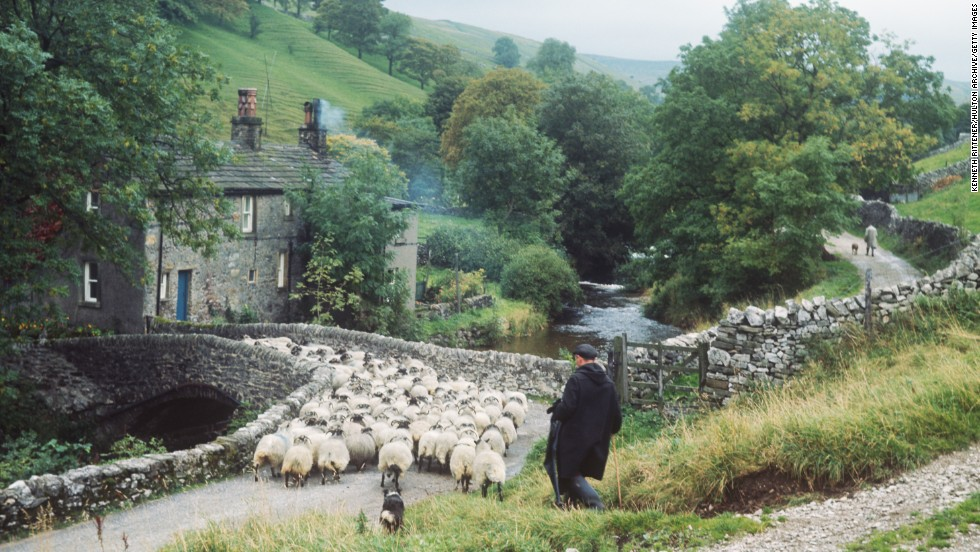 It won't always be sunny, but England's Yorkshire roads are invariably beautiful.