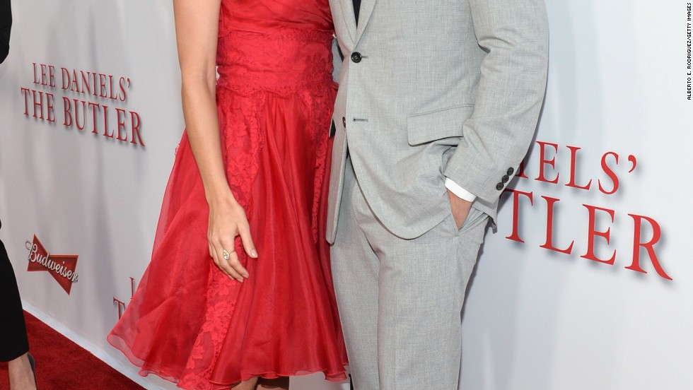 """The Butler"" co-stars Minka Kelly and James Marsden work the red carpet at the premiere of their new movie on August 12."