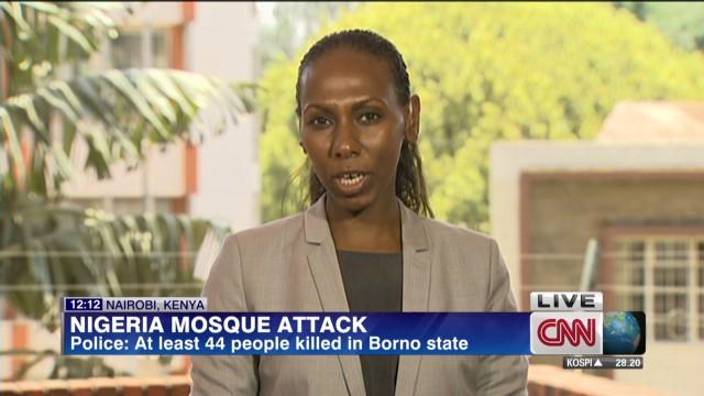Police: Dozens killed in mosque attack