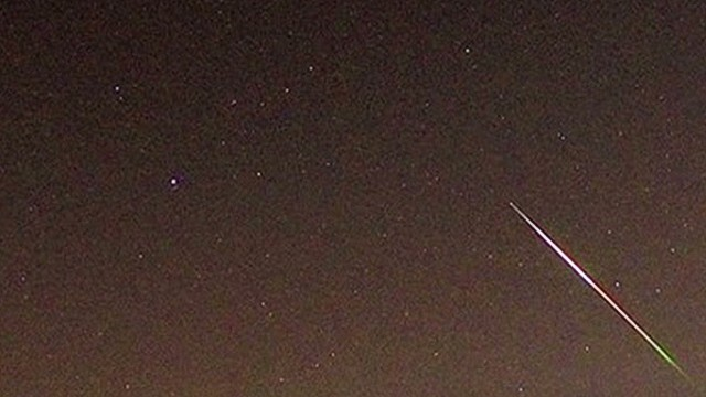 2013: Perseid meteor shower lights up the sky