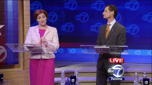 New York City mayoral debate gets ugly