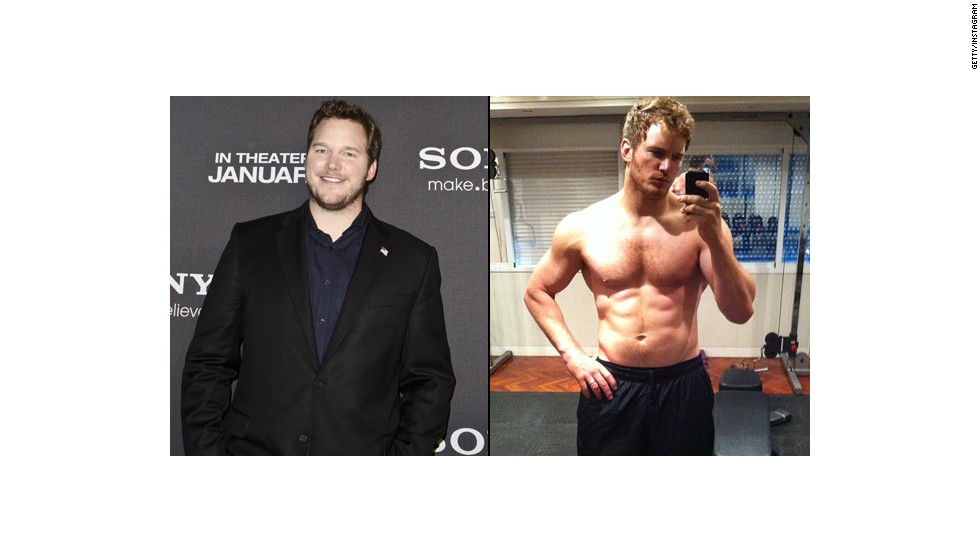 "For ""Guardians of the Galaxy,"" Chris Pratt gave up beer for six months ... and wound up looking like this."