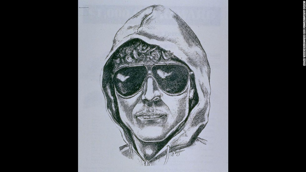 The infamous FBI sketch of the Kaczynski, based on witness recollection after the killing of store manager Hugh Scrutton.