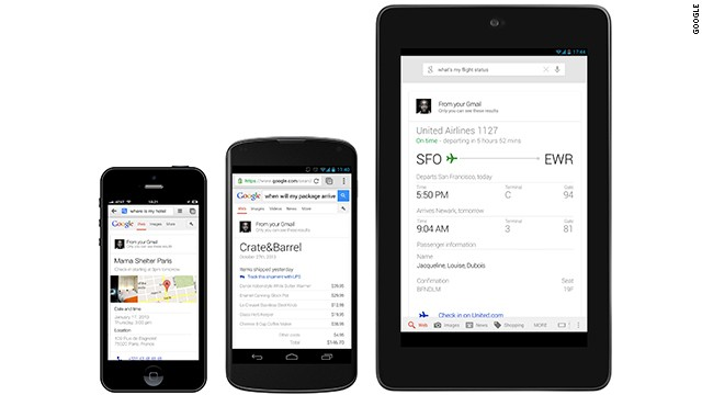 Google is adding personalized voice searches to let you ask about your calendar, flights, purchases and photos.