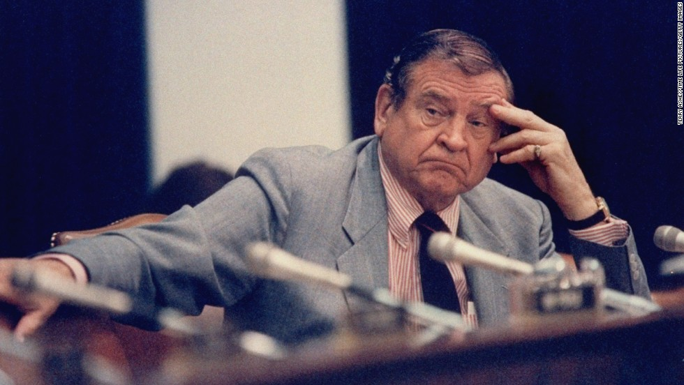 The late Rep. Dan Rostenkowski, D-Illinois, lost his seat in the Republican landslide of 1994 amid corruption charges. He served a year in prison after his 1996 conviction, then was pardoned by President Bill Clinton. He died in August 2010.
