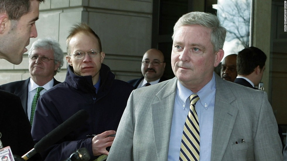 Former U.S. Rep. Bob Ney, R-Ohio, was sentenced to 30 months in prison in 2007 after being convicted of conspiracy to commit fraud and making false statements to investigators.