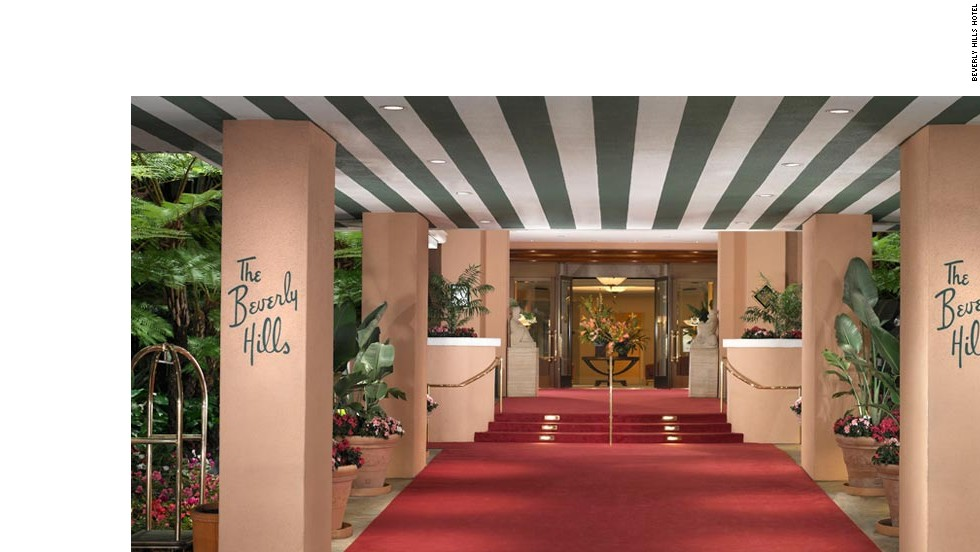 Built in 1912, the Beverly Hills hotel predates the city of Beverly Hills by two years. Liz Taylor couldn't stop coming back; she spent six of her eight honeymoons here.