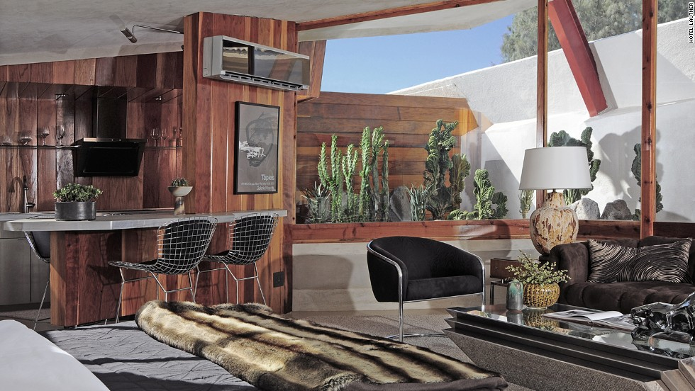 This midcentury modern oasis was designed by Frank Lloyd Wright protege John Lautner. Every inch remains in step with the architect's philosophy, yet feels as fresh as if Lautner himself just gave the final OK.