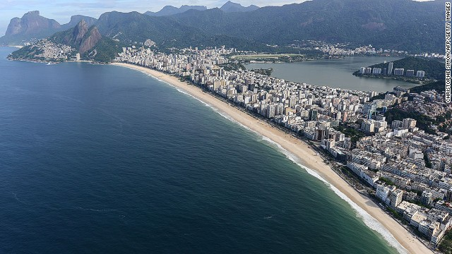Ipanema beach in Rio de Janeiro. World Cup crowds will come for more than just the football.