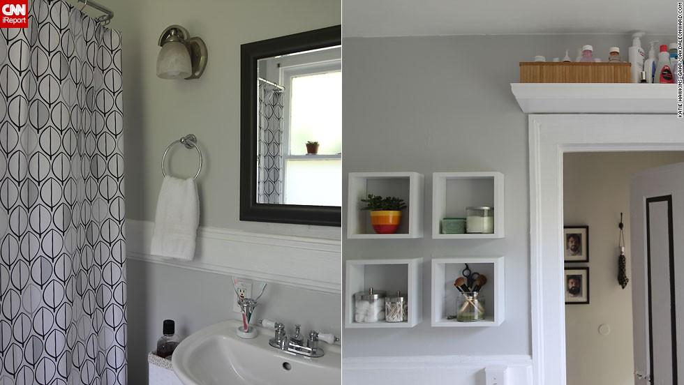 "<a href=""http://ireport.cnn.com/docs/DOC-1016490"">Katie Hawkins-Gaar's</a> serene <a href=""http://oakdaleonward.com/2011/09/24/bathroom-reveal/"" target=""_blank"">bathroom</a>."
