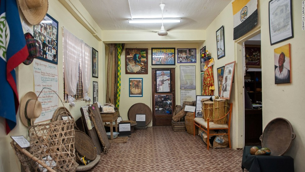 The country's primary collection of Garifuna artifacts is housed at the Luba Garífuna Museum in Belize City.