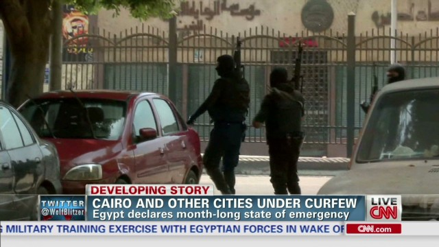 Watch deadly violence erupt in Cairo
