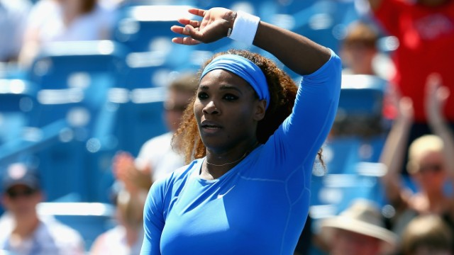 Serena Williams faces test in U.S. Open