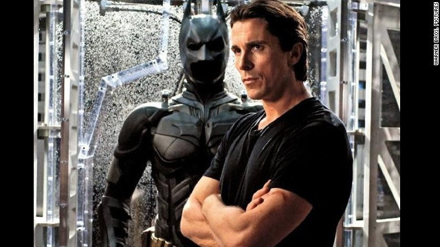 Christian Bale stars as Bruce Wayne/Batman in 'The Dark Knight Rises.""