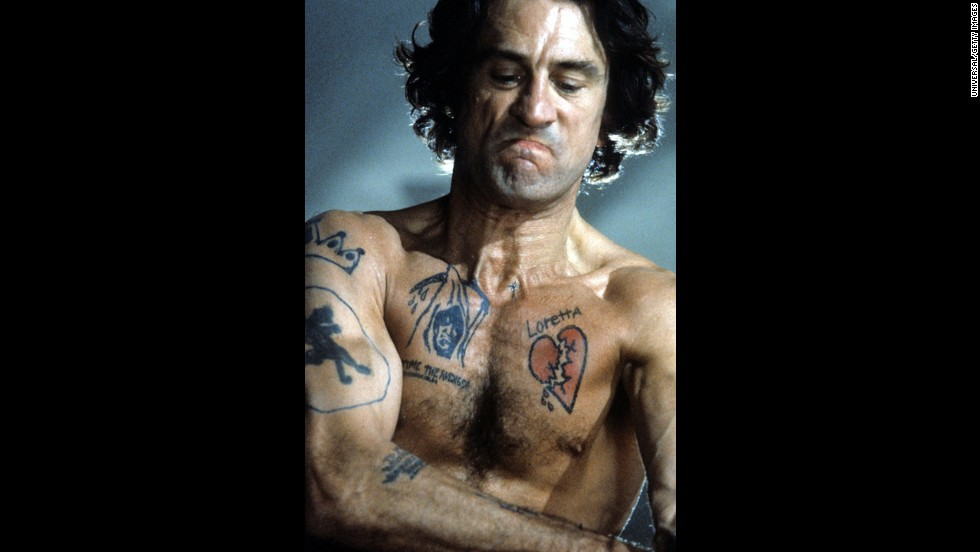 "De Niro and Scorsese remade the chilling ""Cape Fear"" in 1991. De Niro plays Max Cady, who stalks a family after being released from prison."