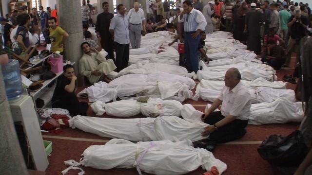 Horrible Christian Churches Across Egypt Stormed