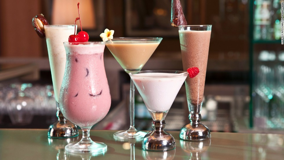 Abu Dhabi's Ritz-Carlton Grand Canal has its own camel milk mixologist. All of these camel milk concoctions are non-alcoholic.