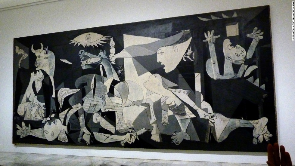 It says much about the violent 20th century that Picasso's jarring depiction of a Spanish Civil War massacre, in Madrid's Reina Sofía Museum, is perhaps the most famous work of the period.