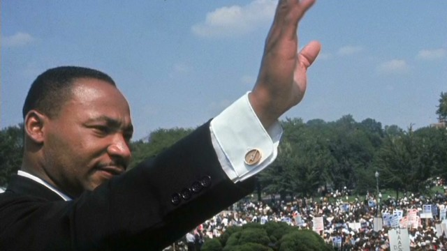 The story behind 'I Have A Dream' speech