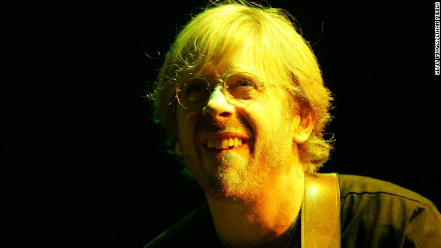 Favorite Redhead No. 1: Trey Anastasio shows the face a ginger makes before he steals your soul.