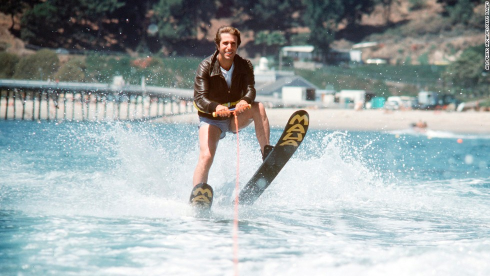 "Ever wondered where the phrase ""jumped the shark"" came from? You can thank the ""Happy Days"" writers for that one. In 1977, the beloved show took a plot turn it couldn't recover from when Henry Winkler's Fonzie literally ""jumped a shark"" while water skiing."