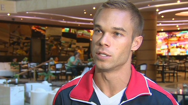 Athlete speaks out against anti-gay law