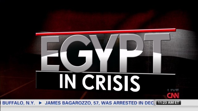 Violence erupts in Egypt