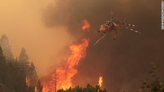 Idaho fire scorches 100,000 acres