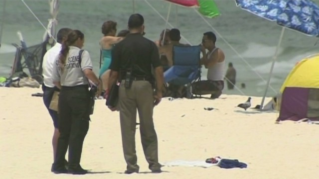 Elderly couple die in rip current